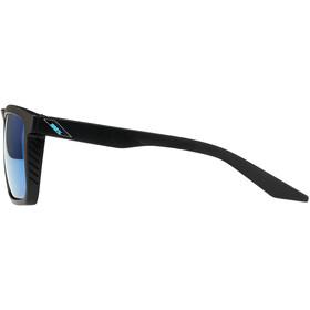 100% Renshaw Bril, zwart/blauw